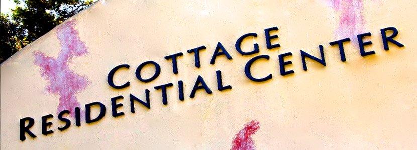 Cottage Residential Center sign